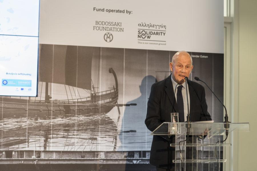 Dimitris Vlastos, President of the Board, Bodossaki Foundation